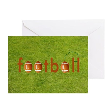 Football Greeting Cards (Pk of 10)