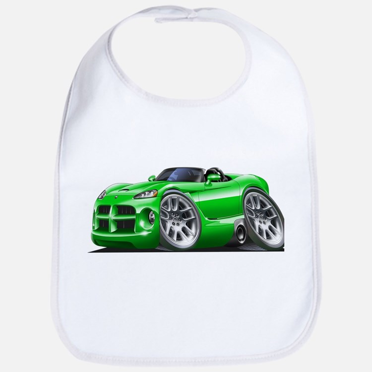 Viper Roadster Green Car Bib