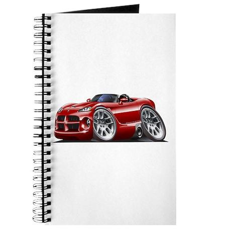Viper Roadster Maroon Car Journal