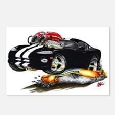 Viper Black/White Car Postcards (Package of 8)