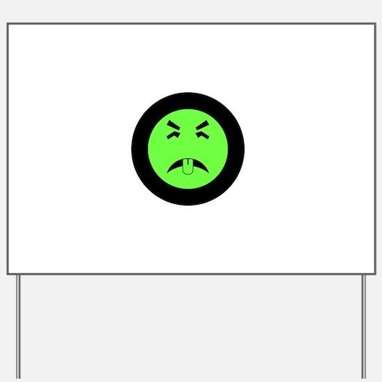Mr. Yuk logo Yard Sign