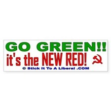 Go Green, it's the new RED!