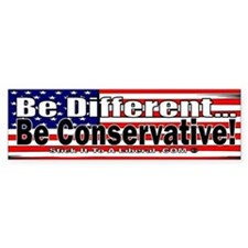 Be Different, Be Conservative!
