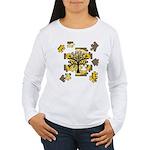 Tree Jigsaw Women's Long Sleeve T-Shirt
