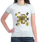 Tree Jigsaw Jr. Ringer T-Shirt