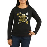 Tree Jigsaw Women's Long Sleeve Dark T-Shirt