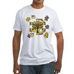 Tree Jigsaw Fitted T-Shirt