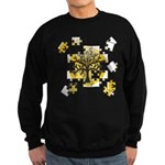 Tree Jigsaw Sweatshirt (dark)