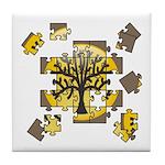 Tree Jigsaw Tile Coaster