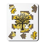 Tree Jigsaw Mousepad