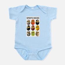 Sports Chicks Infant Bodysuit