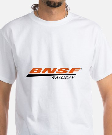 BNSF Railway White T-Shirt