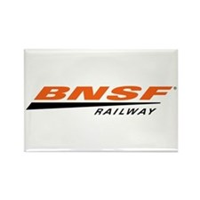 BNSF Railway Rectangle Magnet