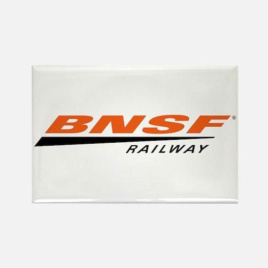 BNSF Railway Rectangle Magnet