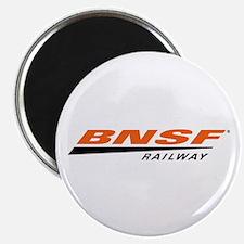 BNSF Railway Round Magnet