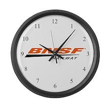 BNSF Railway Large Wall Clock