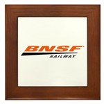 BNSF Railway Framed Tile