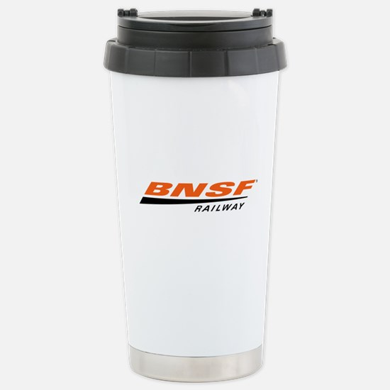 BNSF Railway Stainless Steel Travel Mug