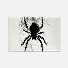 Scary Spider Rectangle Magnet