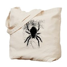 Scary Spider Tote Bag