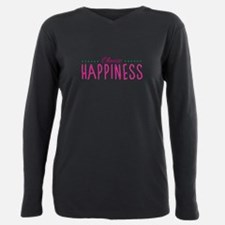 Choose Happiness - Fitted T-Shirt