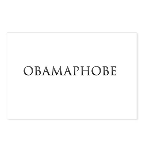 OBAMAPHOBE Postcards (Package of 8)