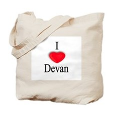 Devan Tote Bag