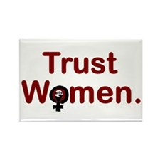 TRUST WOMEN, Fridge Magnet