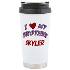 I Love My Brother Skyler Travel Mug