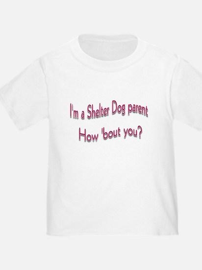 Shelter Dog Parent T
