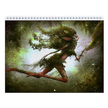 Wall calendar grand calendrier by faeryfolks - Grand calendrier mural ...