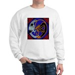 Celtic Bird & Cat Sweatshirt