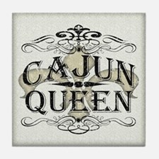 Cajun Queen Tile Coaster