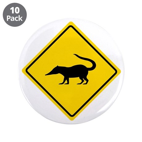 "Coatimundi Crossing, Guatemala 3.5"" Button (10 pac"
