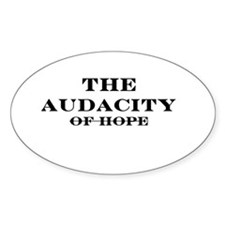 The Audacity Oval Decal