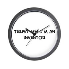 Trust Me: Inventor Wall Clock