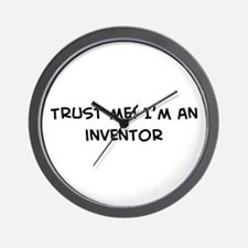 Trust Me: Inventor Wall Clock