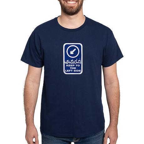 Keep To Left Side, Pakistan Dark T-Shirt