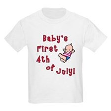 Baby's First 4th of July T-Shirt