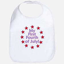 My First Fourth of July Bib