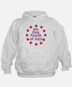 My First Fourth of July Hoodie