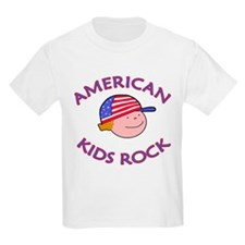 AMERICAN Kids Rock T-Shirt