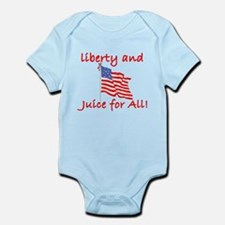 Liberty and Juice for All Infant Bodysuit