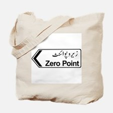 Zero Point, Islamabad, Pakistan Tote Bag