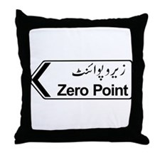Zero Point, Islamabad, Pakistan Throw Pillow
