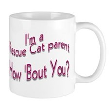 Rescue Cat Parent Mug (2-sided)