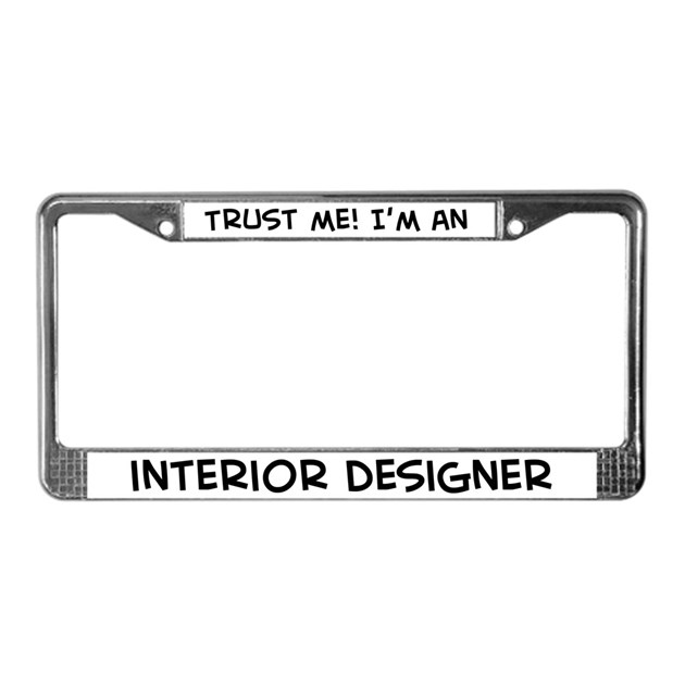 Designer License Plate Frames Bing Images