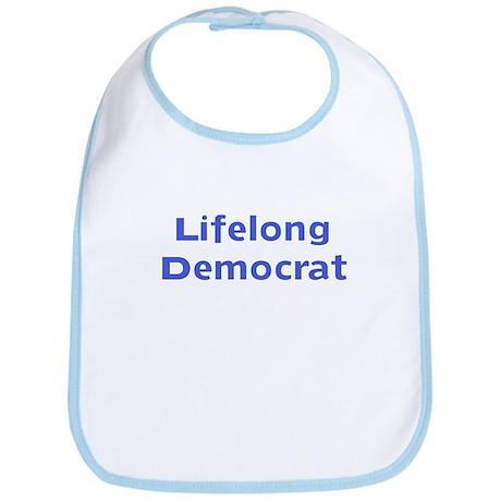 Lifelong Democrat Bib