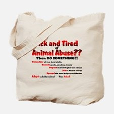 Sick and Tired... Tote Bag