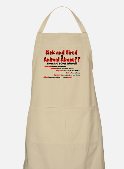 Sick and Tired... BBQ Apron